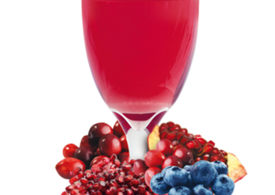 Blueberry, Cranberry and Pomegranate Drink Mix