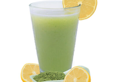 Lemon Matcha Green Tea Drink Mix