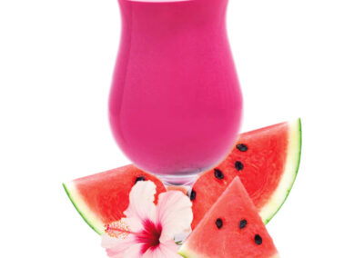 Watermelon and Hibiscus Flavored Drink Mix