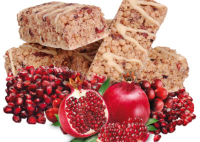 Cranberry Pomegranate Bar