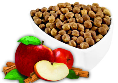 Apple Cinnamon Soy Puffs